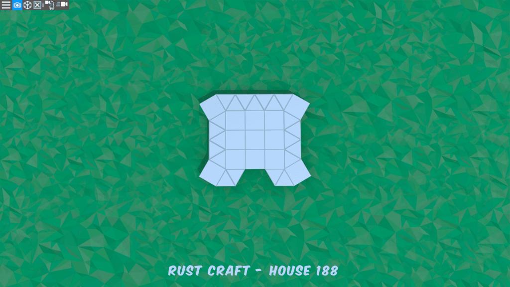 Фундамент дома Spiker4 в Rust