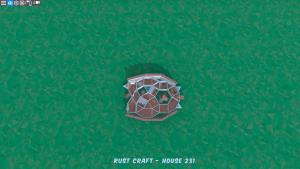 1 этаж дома Furn3 в Rust