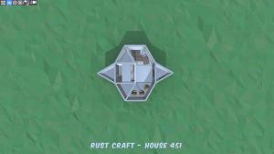1 этаж дома Startup3 в Rust