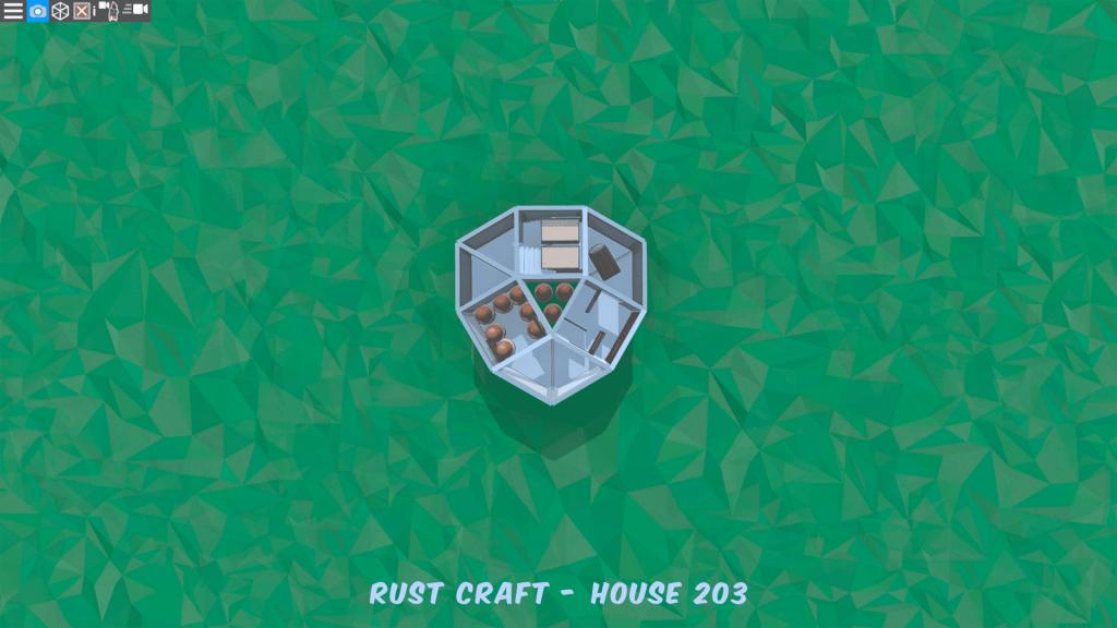 1 этаж дома Startup5 в Rust