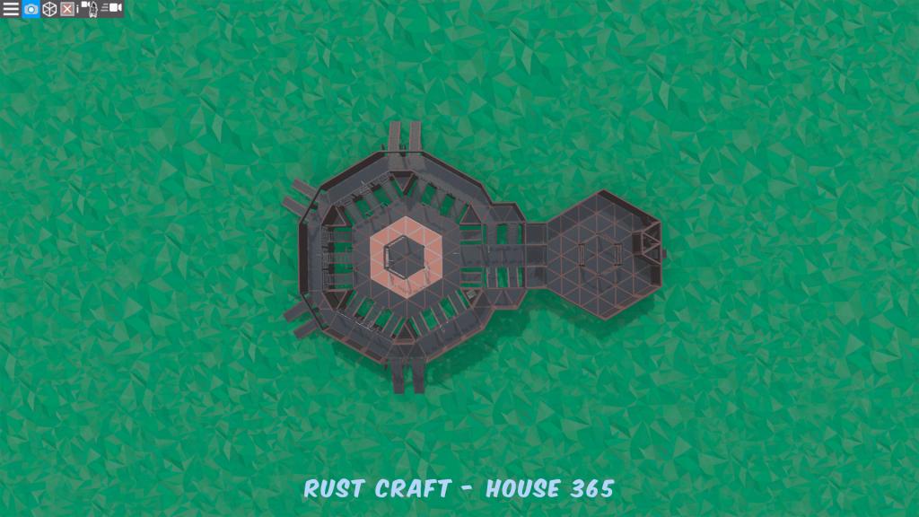 1 этаж тюрьмы в Rust