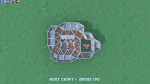 2 этаж дома Furn4 в Rust