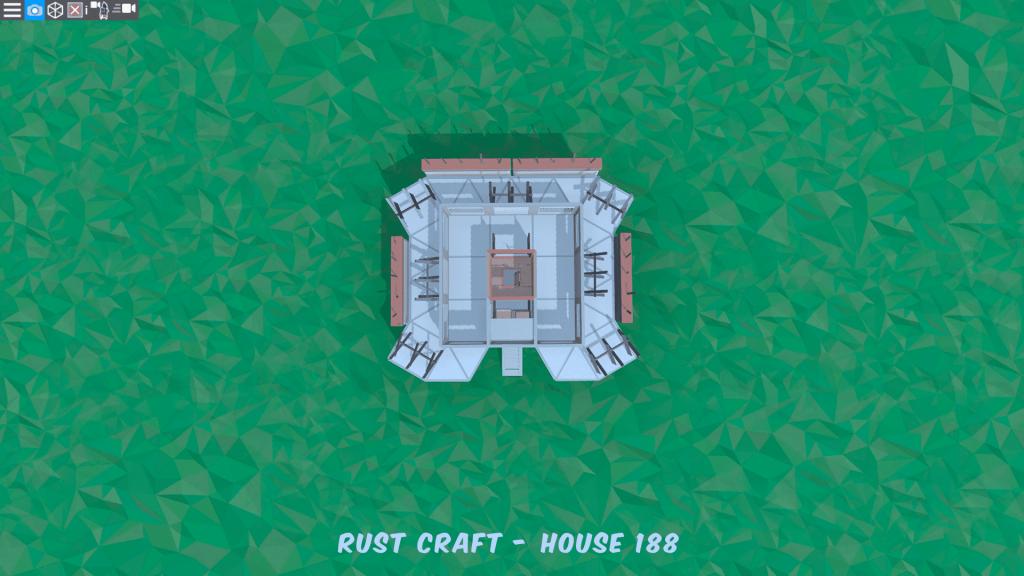 2 этаж дома Spiker4 в Rust