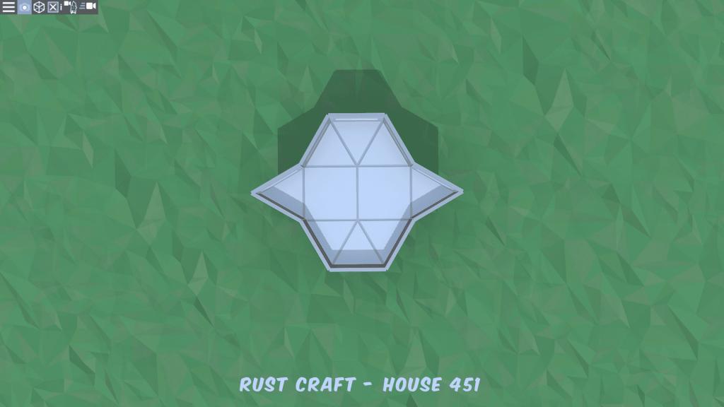 2 этаж дома Startup3 в Rust