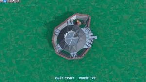 3 этаж дома Fortress в Rust