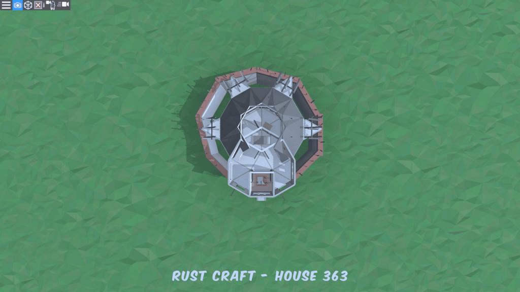 3 этаж дома Fortress4 в Rust