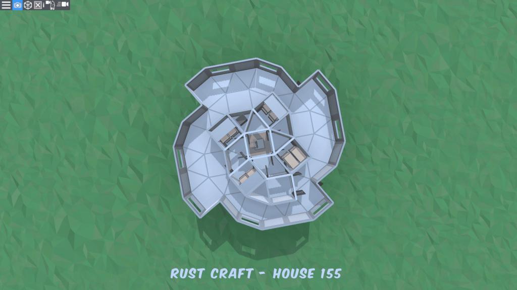 3 этаж дома Spin2 в Rust