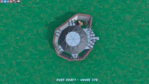 4 этаж дома Fortress в Rust