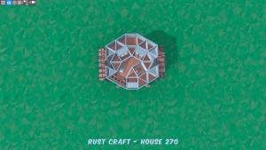 4 этаж дома Fortress3 в Rust