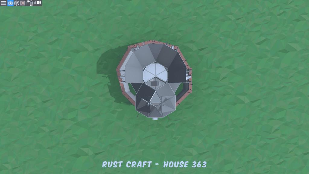 4 этаж дома Fortress4 в Rust