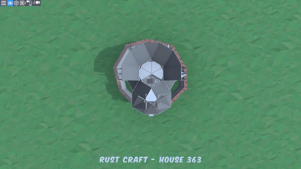 5 этаж дома Fortress4 в Rust
