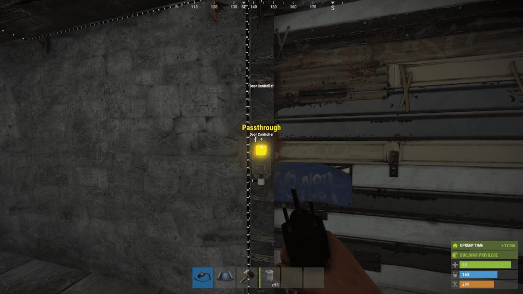 Вывод энергии из дверного контроллера в Rust