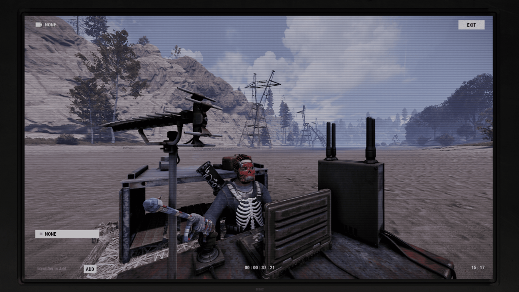 Картинка с дрона в Rust