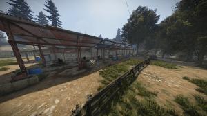 Лошади на ранчо в Rust