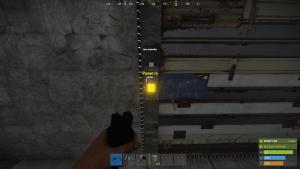 Подача энергии на дверной контроллер в Rust