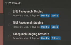 Теги серверов в Rust