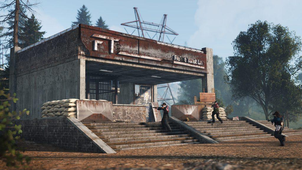 Вход в подземку в Rust