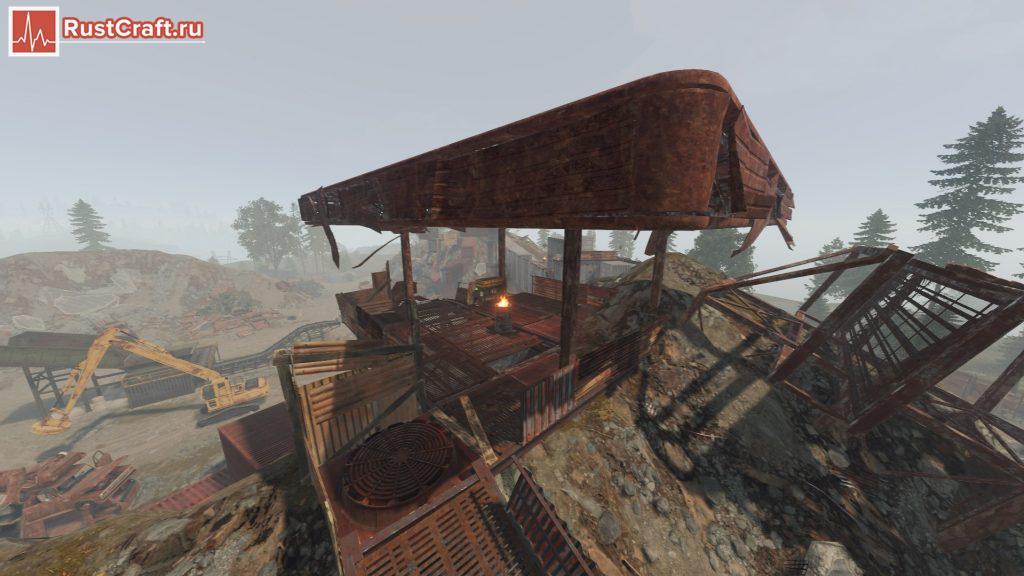 Переработчик на свалке в Rust