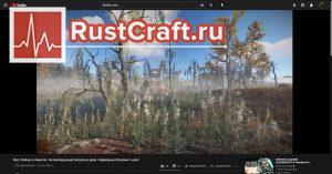 Пролётка в ролике в Rust