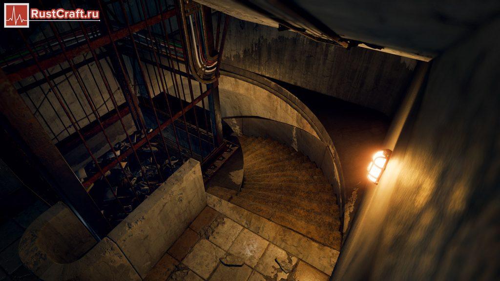 Спиральная лестница в Rust