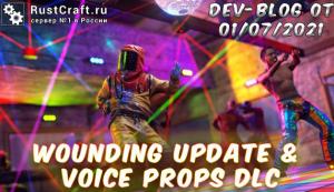 Dev-blog - Wounding Update & Voice Props DLC